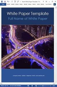 How To Structure A B2b White Paper