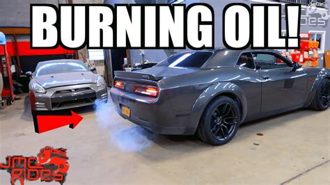 Hellcat Problems by New 83 000 Hellcat Burning Engine Problems Lots Of