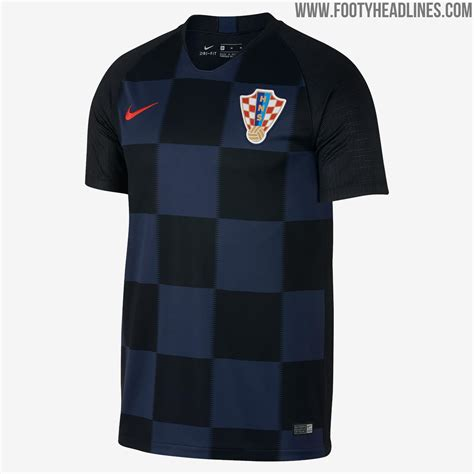 Croatia World Cup Away Kit Revealed Footy Headlines