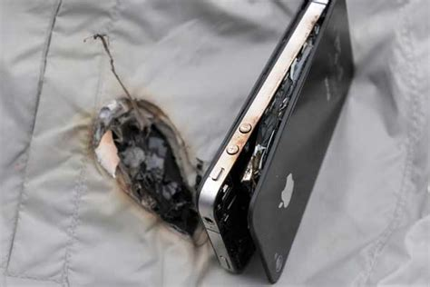 iphone explodes while charging iphone 4 exploded while charging china org cn 1558