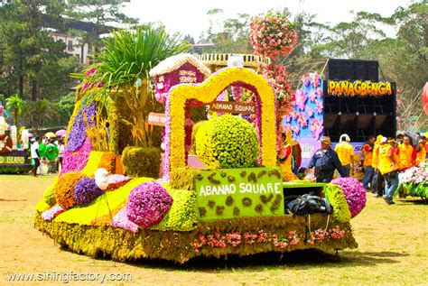 panagbenga festival 2012 grand flower float parade
