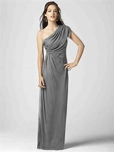 Charcoal grey chiffon bridesmaid dresses wedding and for Charcoal dresses for weddings