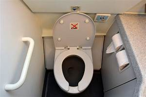 oh poop when someone leaves a surprise in the airplane With how to use airplane bathroom
