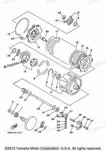Yamaha Atv 2005 Oem Parts Diagram For Clutch