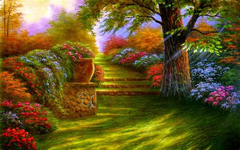 Free Garden Image by Garden Wallpapers 11 1280 X 800