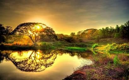 Nature Background Sunset