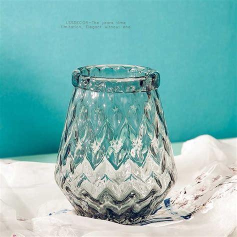 clear flower vases home decor vases supplier