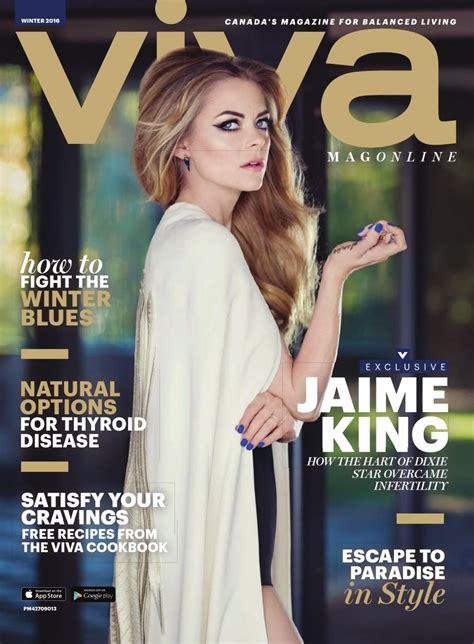 Jaime King - VIVA Magazine Winter 2016 Issue • CelebMafia