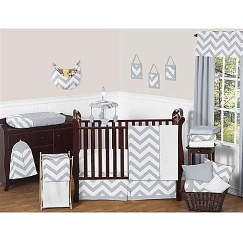 1744 sweet jojo crib bedding sweet jojo designs chevron crib bedding collection in grey