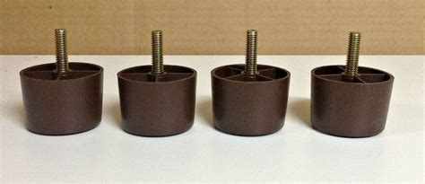 Plastic Sofa Legs Replacement by Furniture Legs Furniture 1 1 2 Quot Plastic Sofa Legs