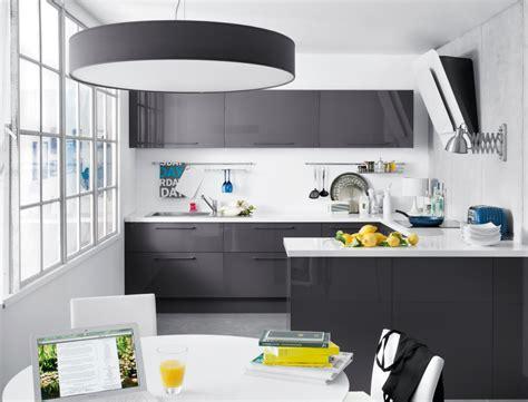 cuisine blanc et grise stunning meuble de cuisine gris et blanc pictures