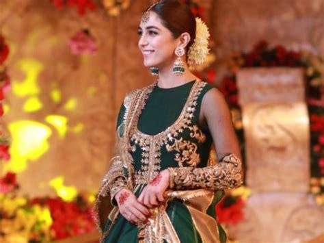 maya ali turns heads  cousin ansas wedding pakistani cinema gulf news