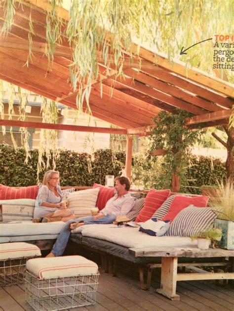 slanted roof slat pergola   homes  gardens home yards gardens pinterest