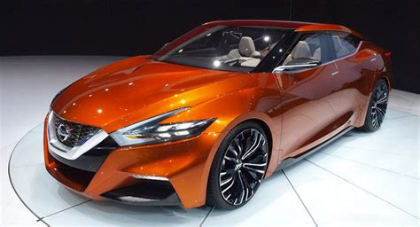 nissan boss says 2015 maxima coming this fall will stay to sport sedan concept