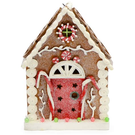 gingerbread house ornament hearts  hrt