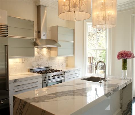 kitchen island with table white marble backsplash kitchen contemporary with black