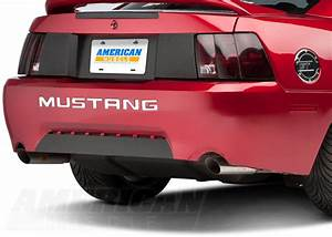 new edge mustang rear end overhaul 1999 2004 With 2004 mustang bumper letters