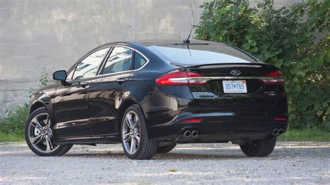 2017 Ford Fusion Sport Mpg by Return Of The Real Sho 2017 Ford Fusion Sport
