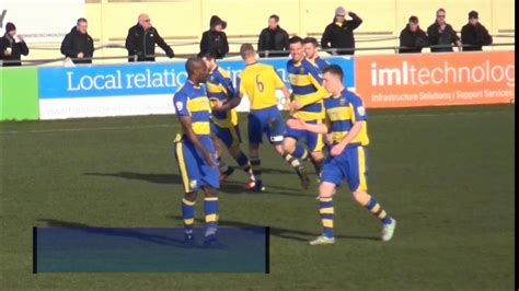Goals from Gainsborough Trinity's visit to table toppers ...