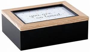 Boite A Compartiment : boite compartiment avec cadre photo sur le couvercle ~ Teatrodelosmanantiales.com Idées de Décoration
