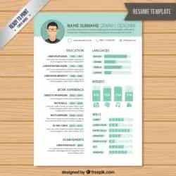 modern resume template 2017 word search resume graphic designer template vector free download