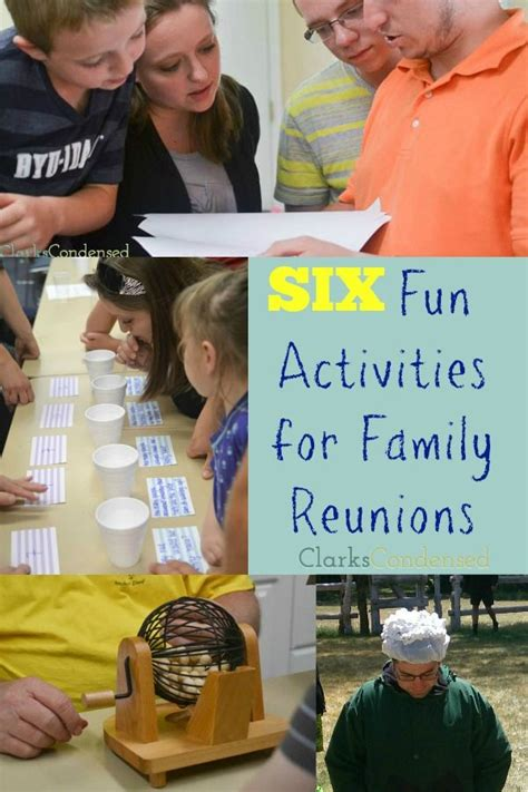family reunion games  pinterest family reunions family games  youth group games