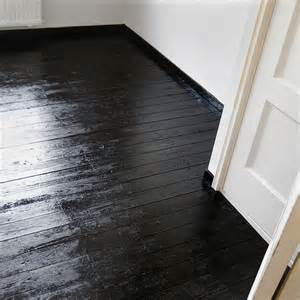 simple and fresh fix to damaged wood floors when sanding and staining are not options or you