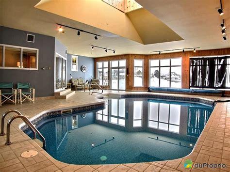 superbe location chalet avec piscine interieure 6