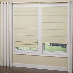 elegant home fashions ivory cordless room darkening fabric With best roman shades reviews