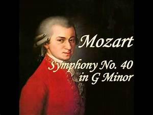 Mozart - Symphony No  40 In G Minor