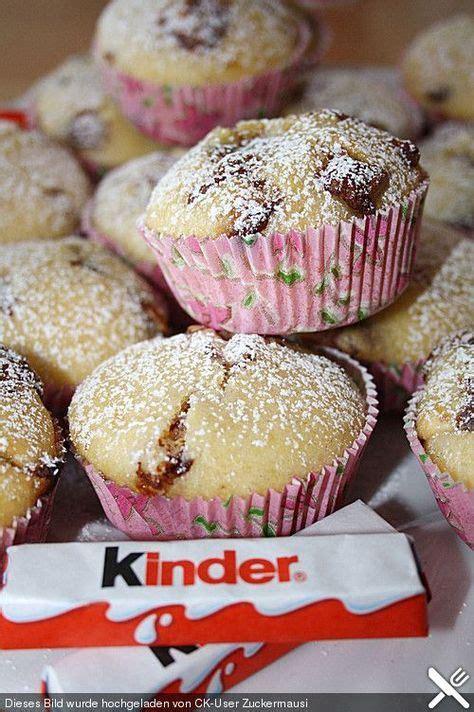 kinderschokolade kuchen rezept kinderschokolade muffins rezept cupcake