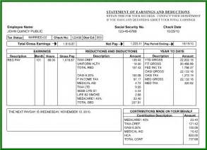 Self Employed Tax Deductions Worksheet How To Read Your Paycheck