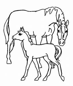 Get This Easy Preschool Printable of Farm Animal Coloring ...