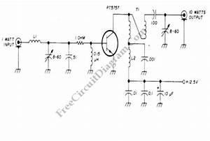 Rf Amplifier  U2013 Circuit Wiring Diagrams