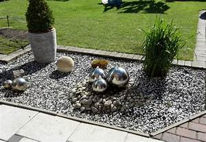 Terrasse Im Garten : kiesbett im garten terrasse plus nowaday garden ~ Whattoseeinmadrid.com Haus und Dekorationen
