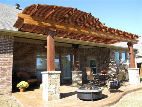 wood patio covers boise pergola keller tx traditional patio dallas by