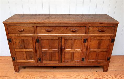 Oak Sideboards For Sale by Antiques Atlas Solid Oak Sideboard