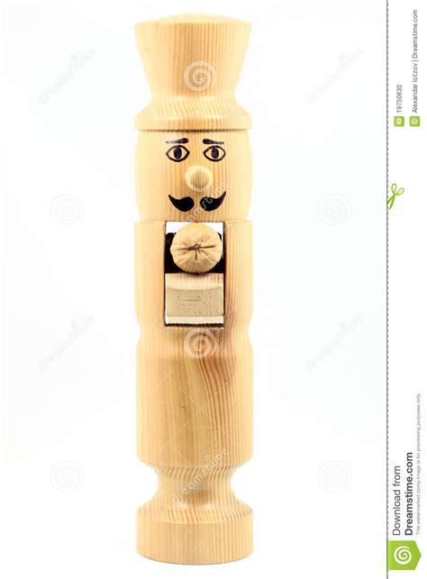 wooden nutcracker stock photo image