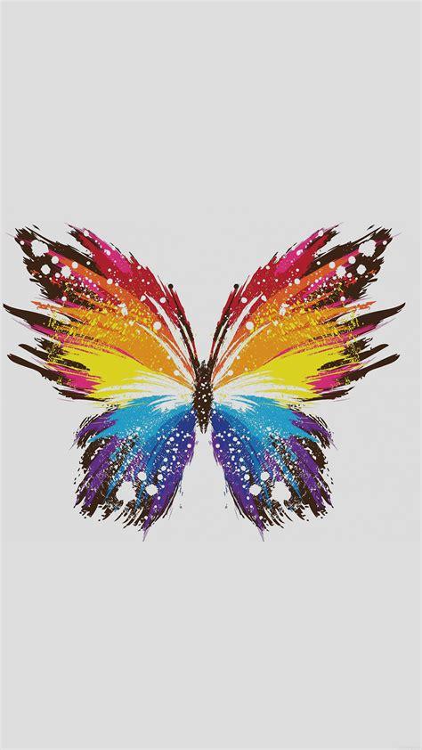 papersco iphone wallpaper ai butterfly art illust