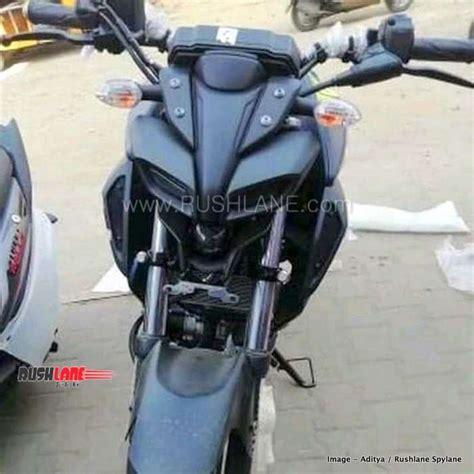 yamaha mt test ride  display bike arrives  dealer