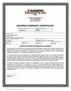 roof certification form template tulumsmsenderco With roof certification form template