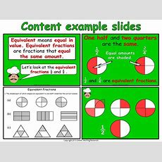 Equivalent Fractions  Year 2 By Onlineteachingresources  Teaching Resources