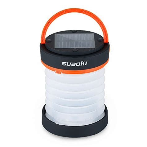 suaoki cing led lantern usb solar rechargeable