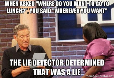 Funny Maury Memes - lets get acquainted with the maury lie detector meme caveman circus caveman circus