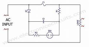 Ac Neon Lamp Filament Semiconductor Blown Fuse Indicator