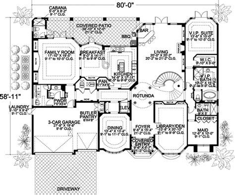 7 Bedrooms, 7 Bath, 6412 Sq Ft Plan