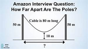 How To Solve Amazon U0026 39 S Hanging Cable Interview Question
