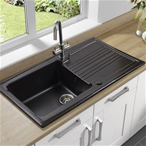 black ceramic kitchen sinks coloured kitchen sinks grey porcelain more tap 4659