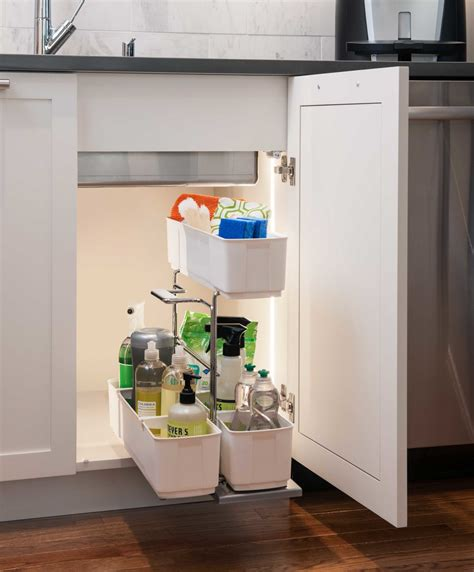 kitchen cabinet for sink cleaning clever storage by kesseb 246 hmer 5411