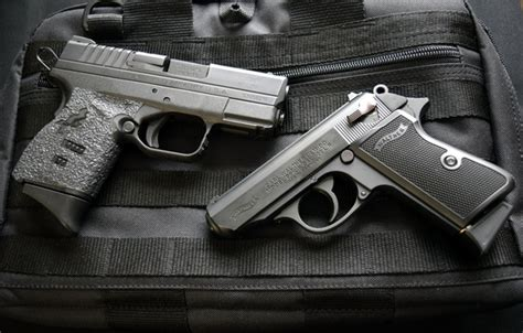 Wallpaper Weapons, Walther Ppks 22, Guns, Springfield Xds